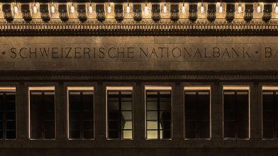 Weihnachts- und Festtagsbeleuchtung SNB, Zürich