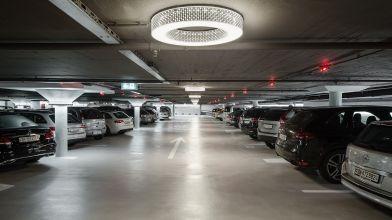 Parking Globus Löwenplatz, Zürich